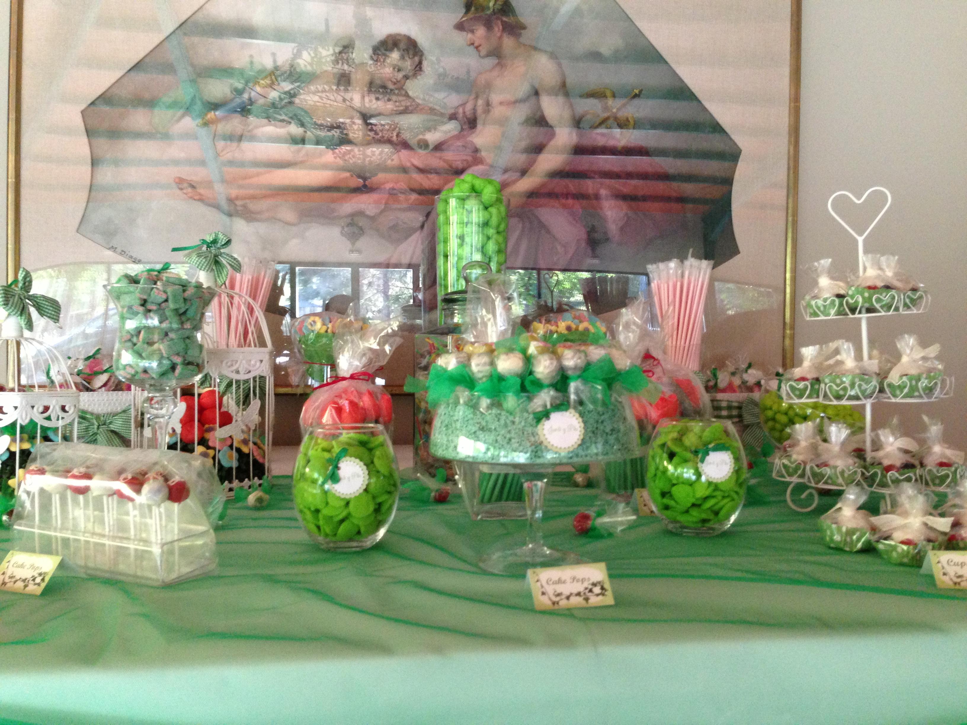 Mesa chuches boda i bocados dedicados - Centro de mesa de chuches ...