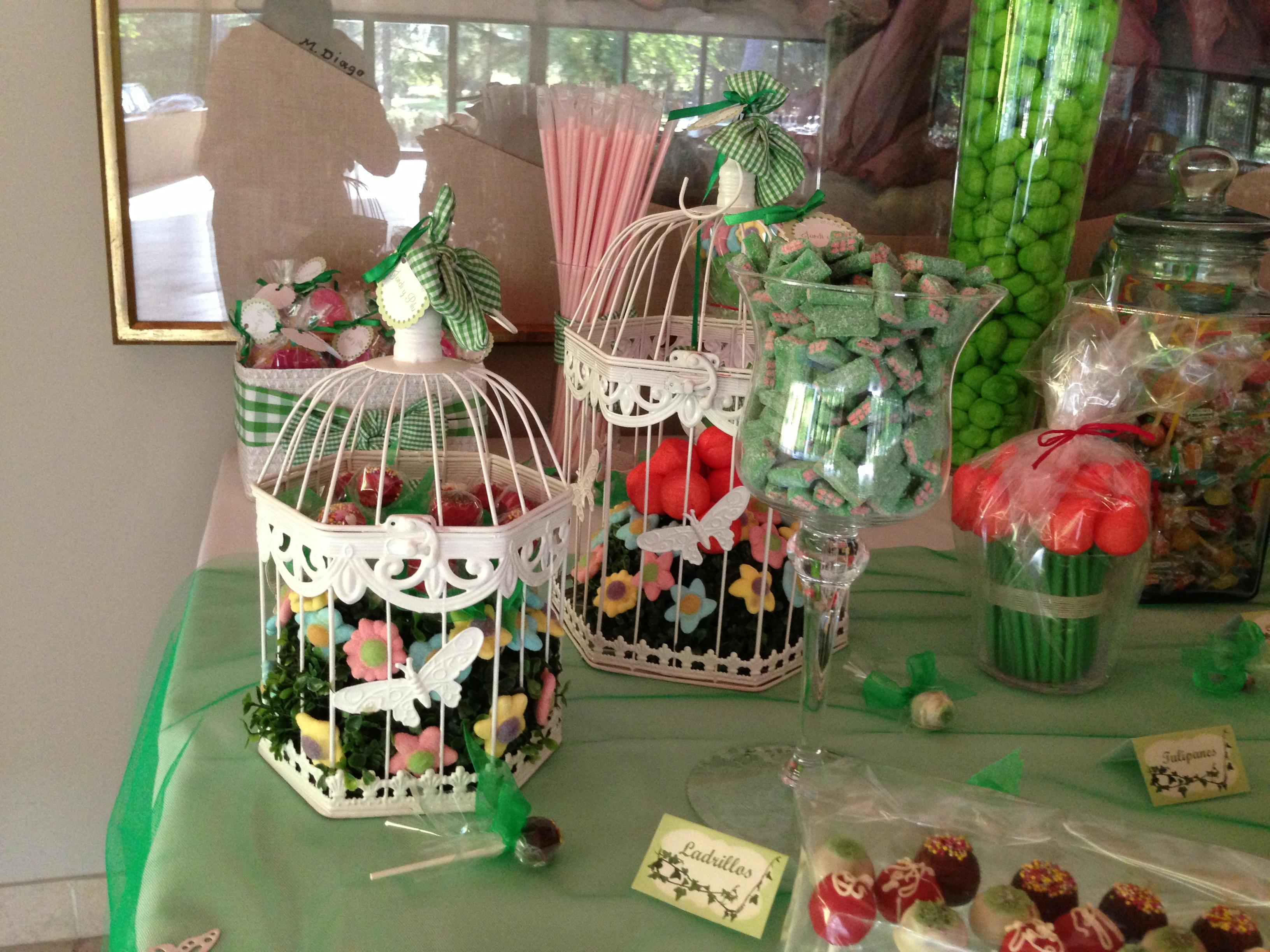Mesa chuches boda i bocados dedicados for Ideas para mesas de chuches