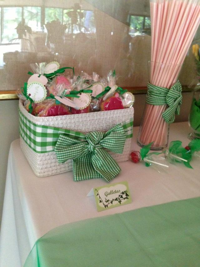 Mesa chuches boda