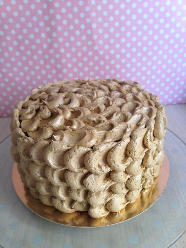 Tarta buttercream cumpleaños