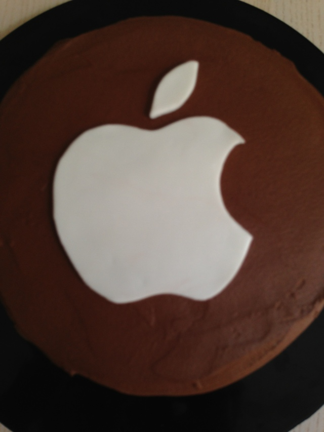 Tarta Fondant Apple