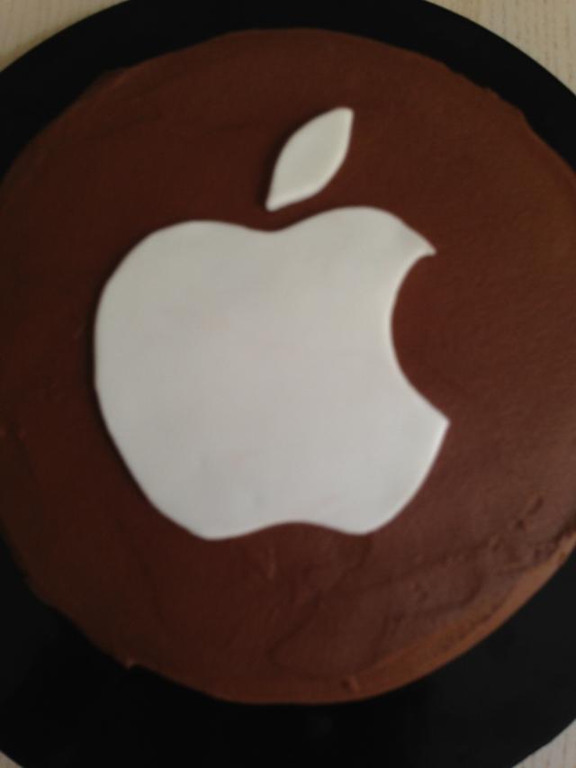 Tarta Fondant Apple