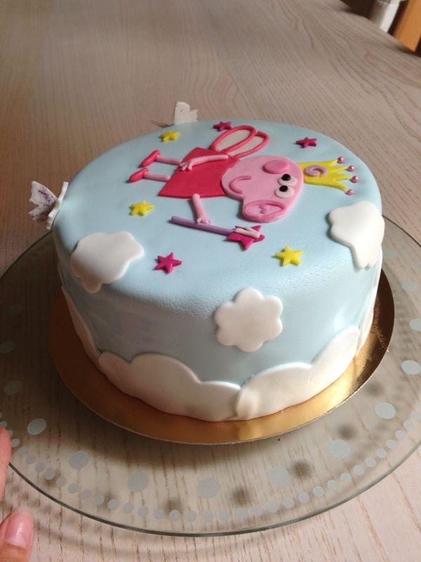 Tarta Fondant Peppa Pig