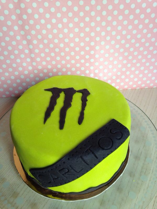 Tarta Monster Fondant