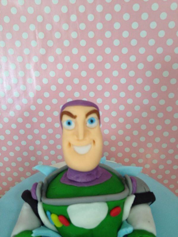 Tarta Buzz lightyear fondant