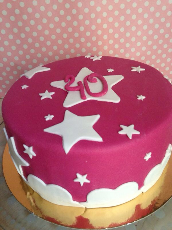 40 cumpleaños fondant