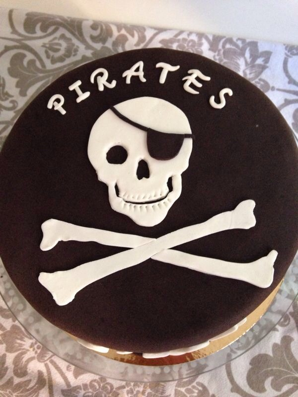 Tarta Fondant Piratas