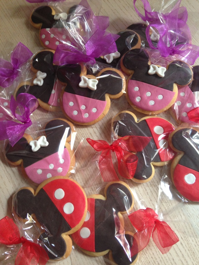Galletas Mickey Fondant