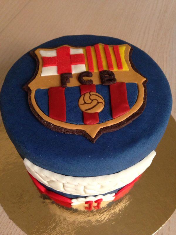 Tarta Barcelona Fondant