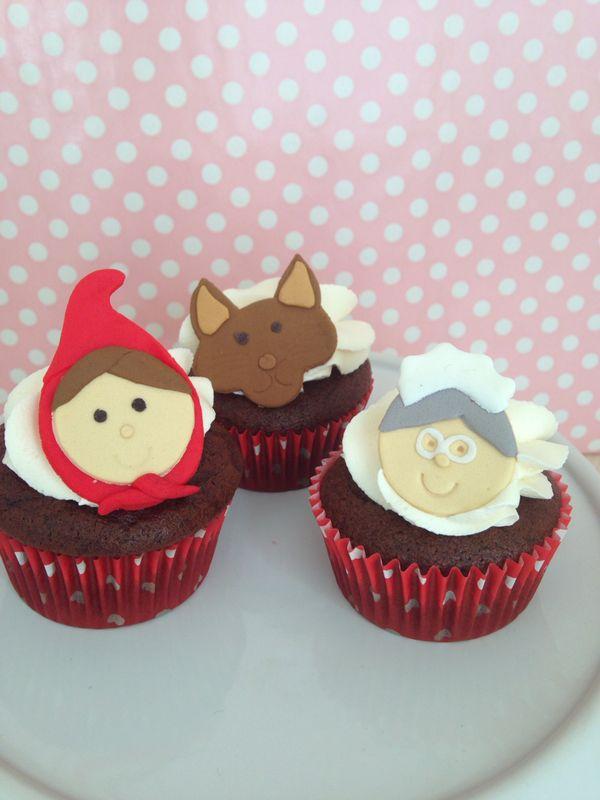 Cupcakes Caperucita