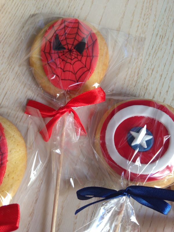 Galletas superhéroes