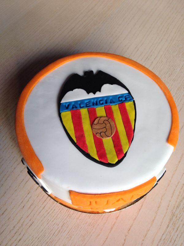 Tarta Fondant  Valencia CF