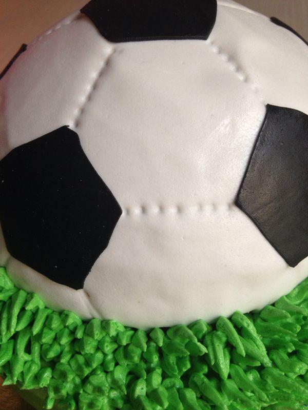 Tarta Fondant Futbol