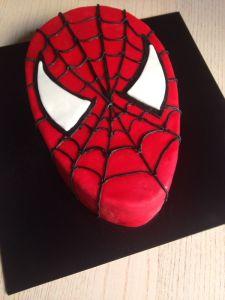 Tarta Fondant Spiderman