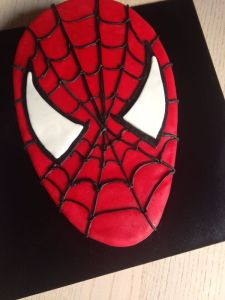 Tarta Fondant Spiderman