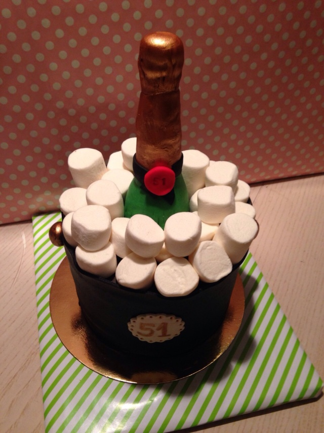 Tarta Champagne Fondant