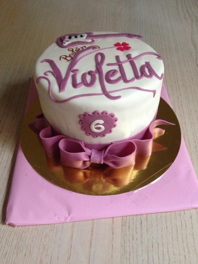 Tarta Violetta Fondant