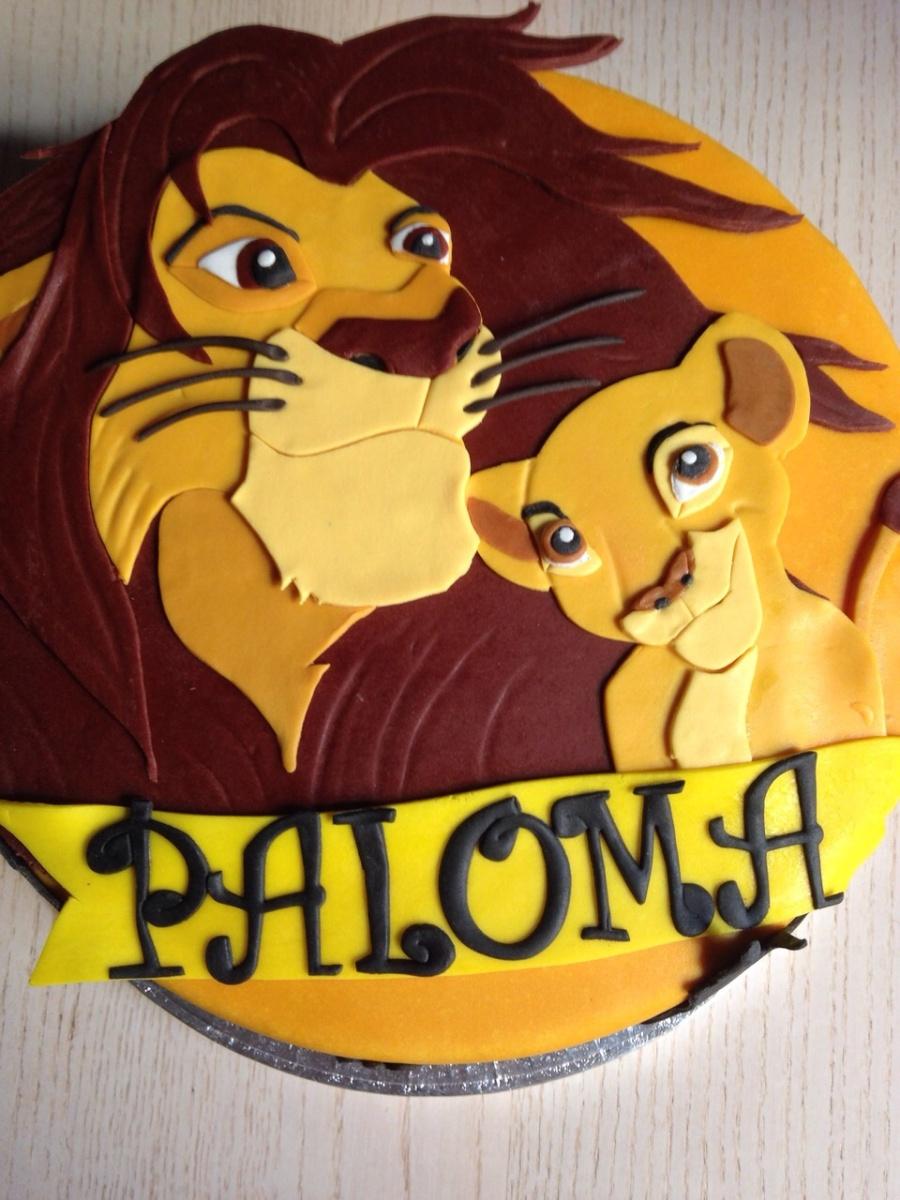 Tarta Rey León