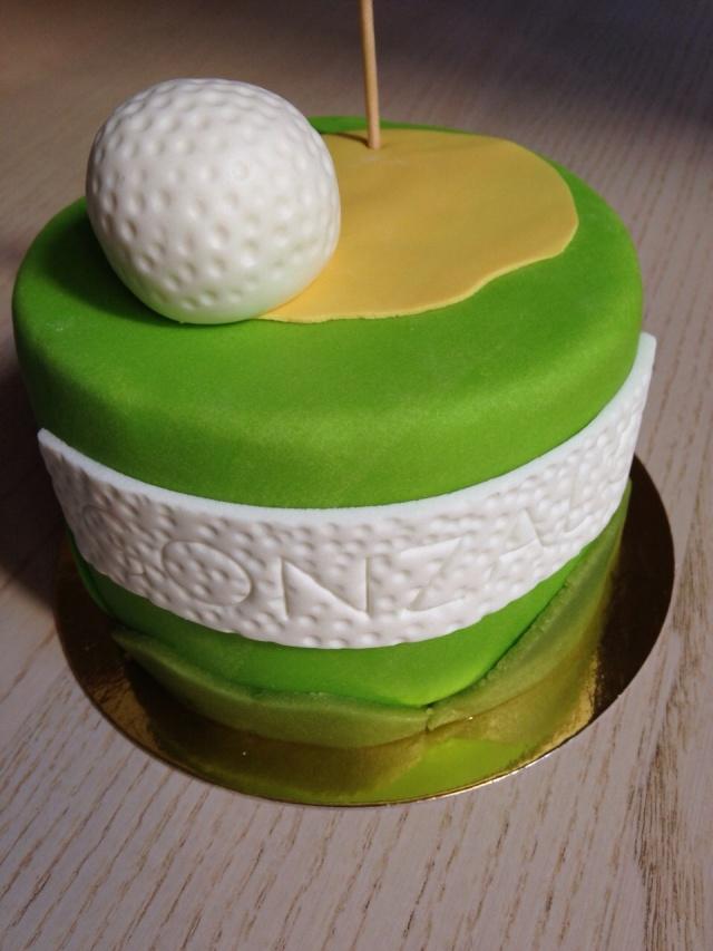 Tarta Fondant Golf