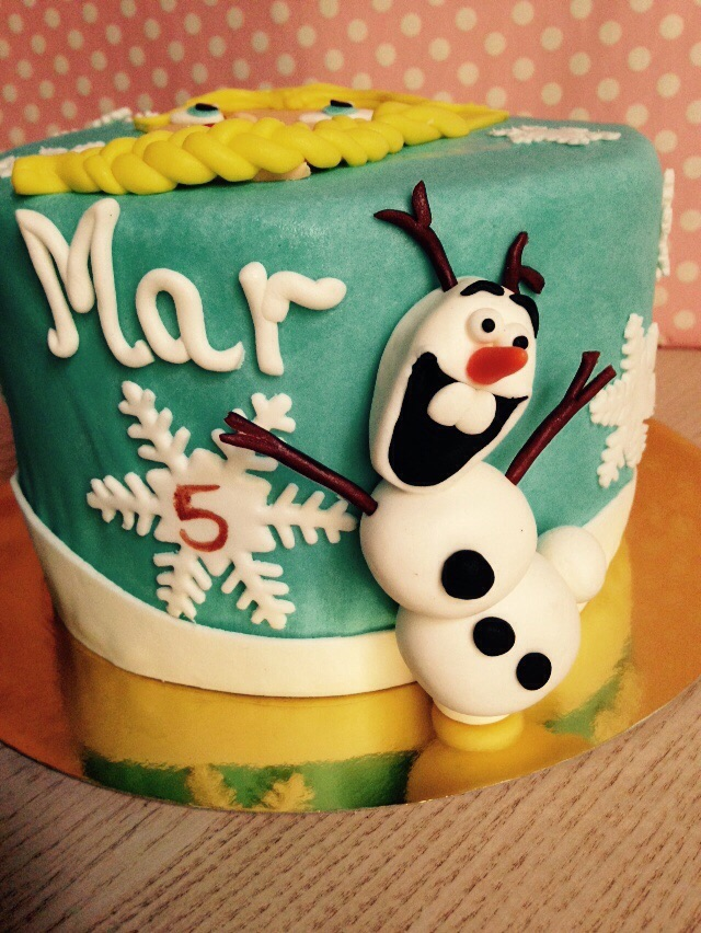 Tarta Frozen Olaf