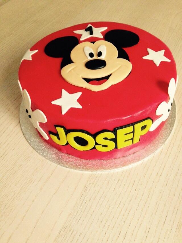 Tarta Mickey