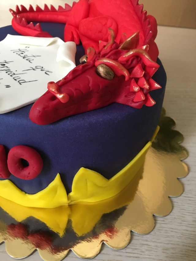 Tarta dragon