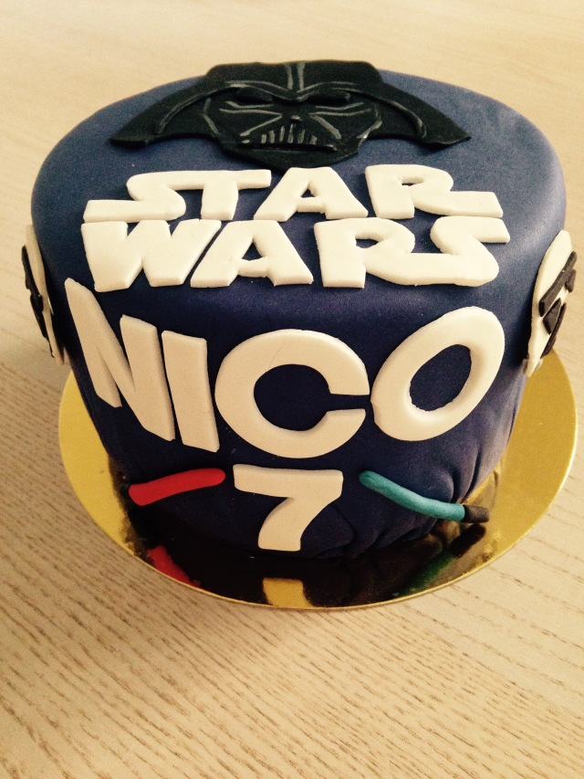 Tarta Star Wars
