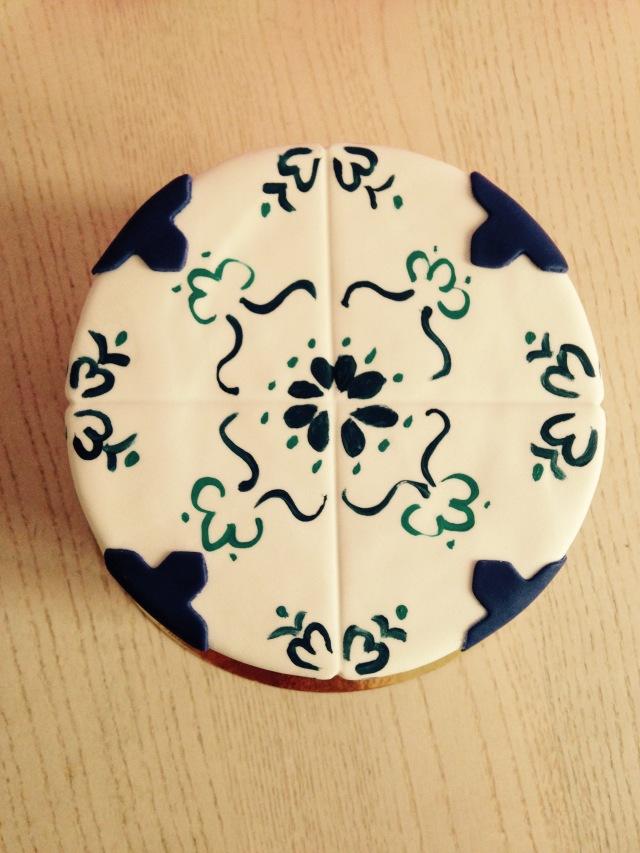 Tarta cerámica Manises
