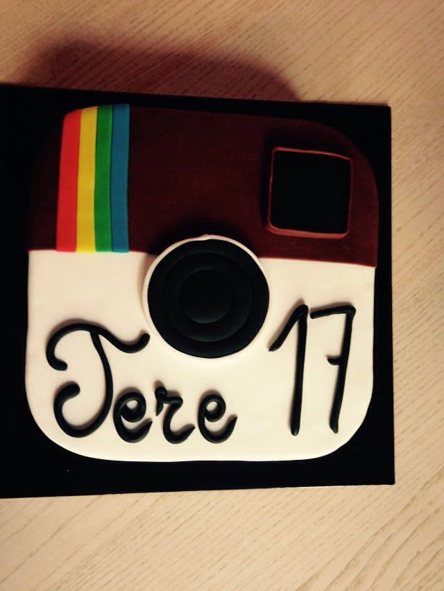 Tarta Instagram