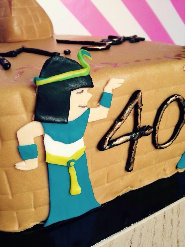 Tarta Fondant Faraona