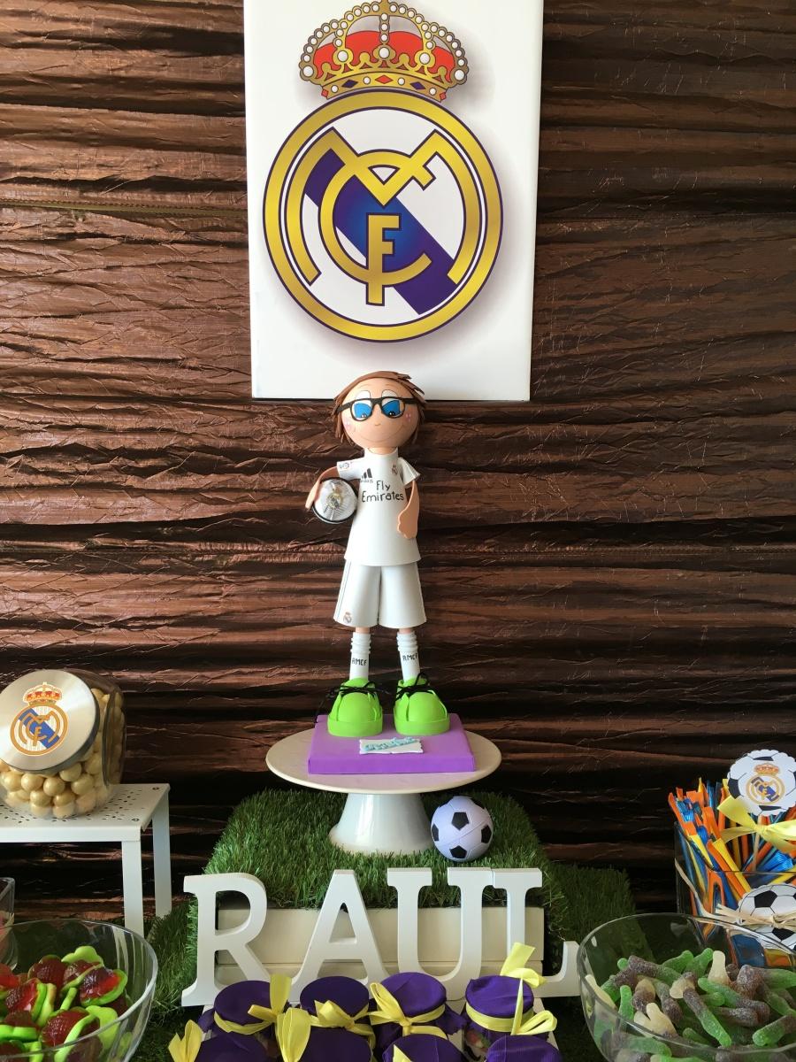 Mesa Chuches Real Madrid